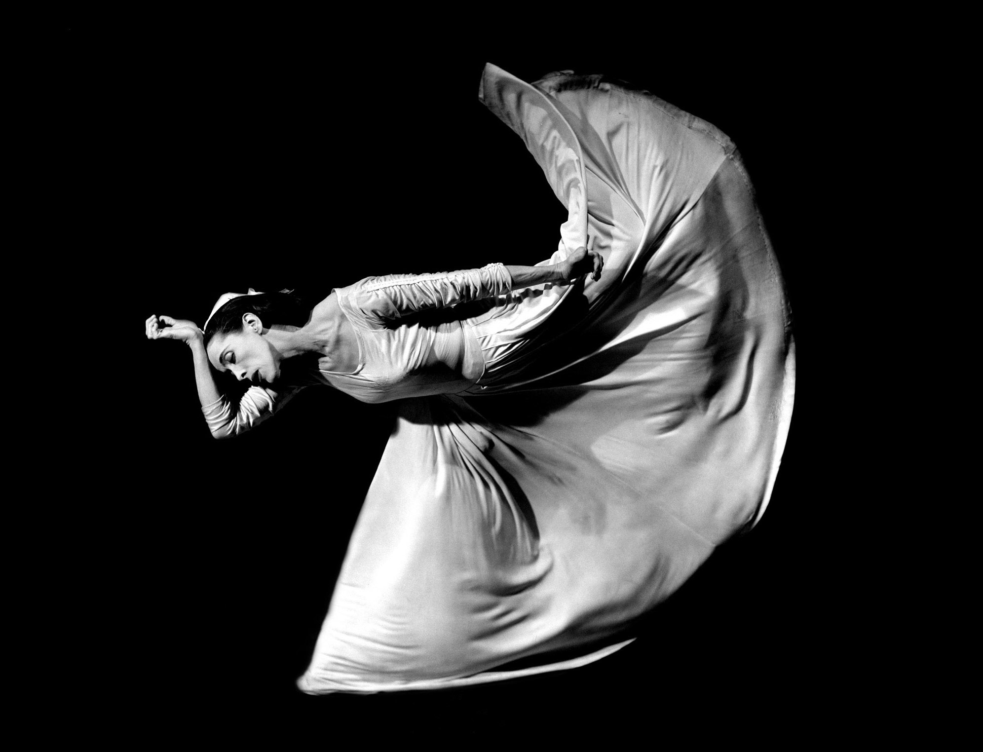Martha Graham, Kick © Barbara Morgan