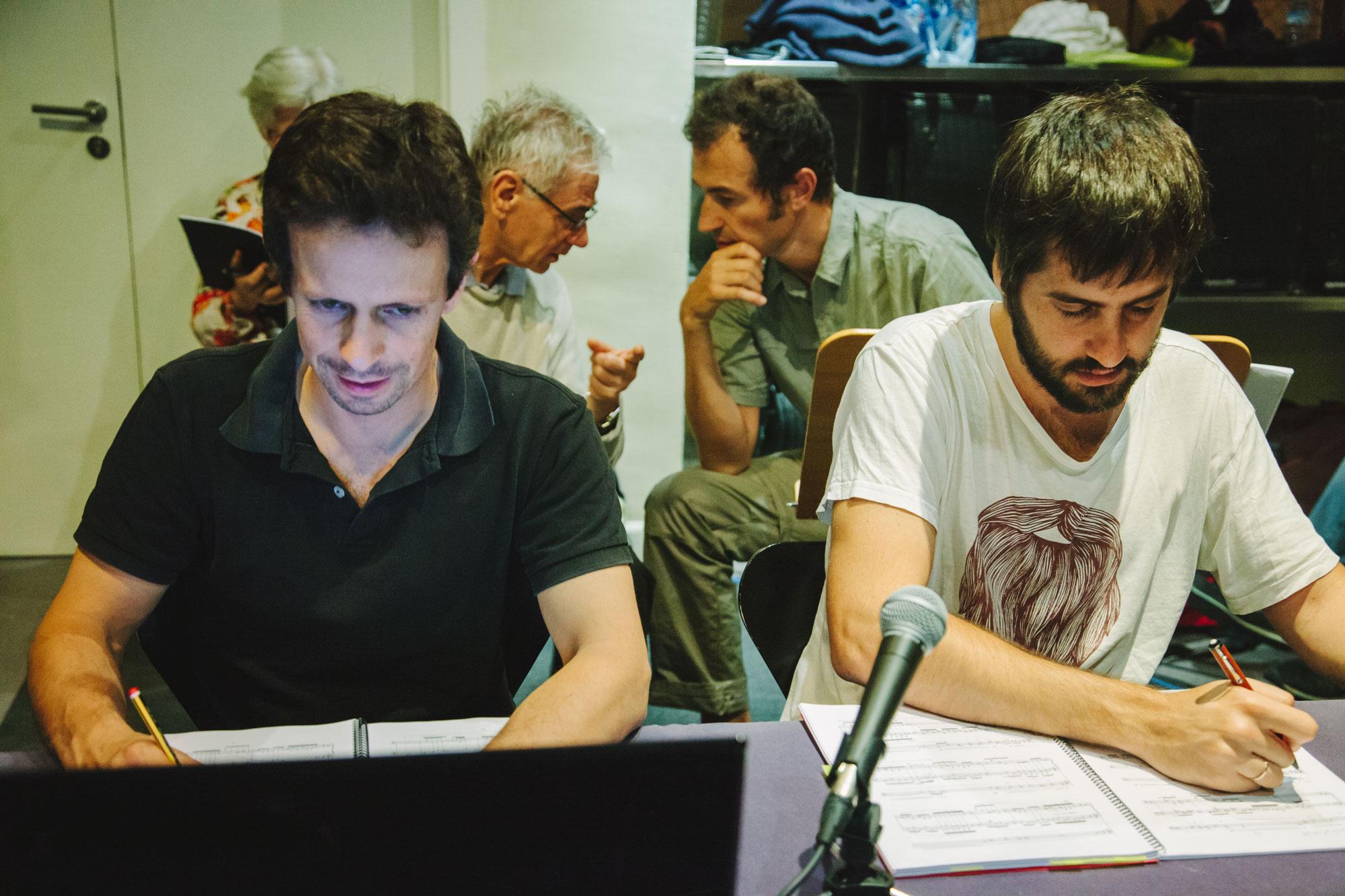 Hugo Romano, Mario Lucarda, Ramon Humet, Santi Barguñó
