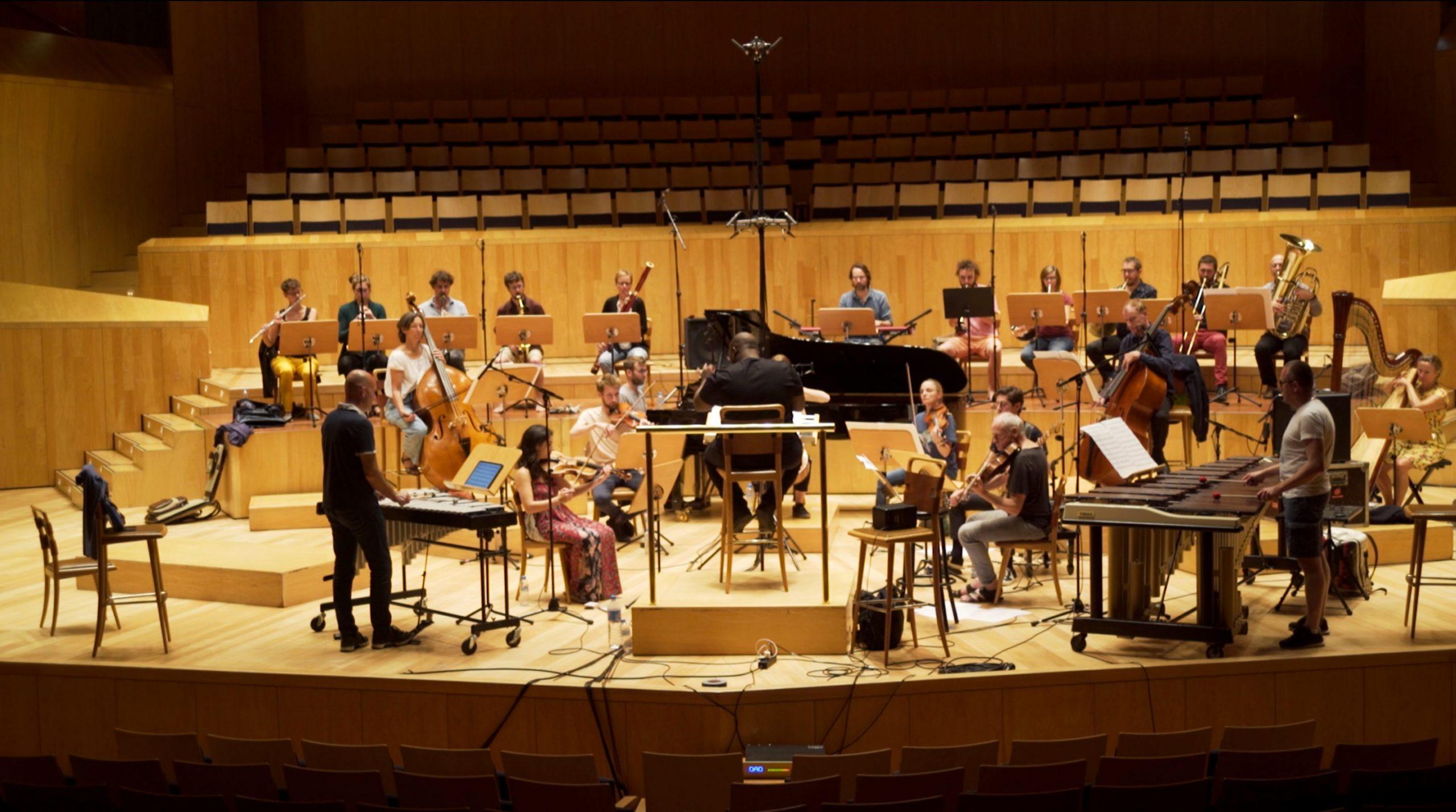 Recording Time Becoming - Ensemble Contrechamps