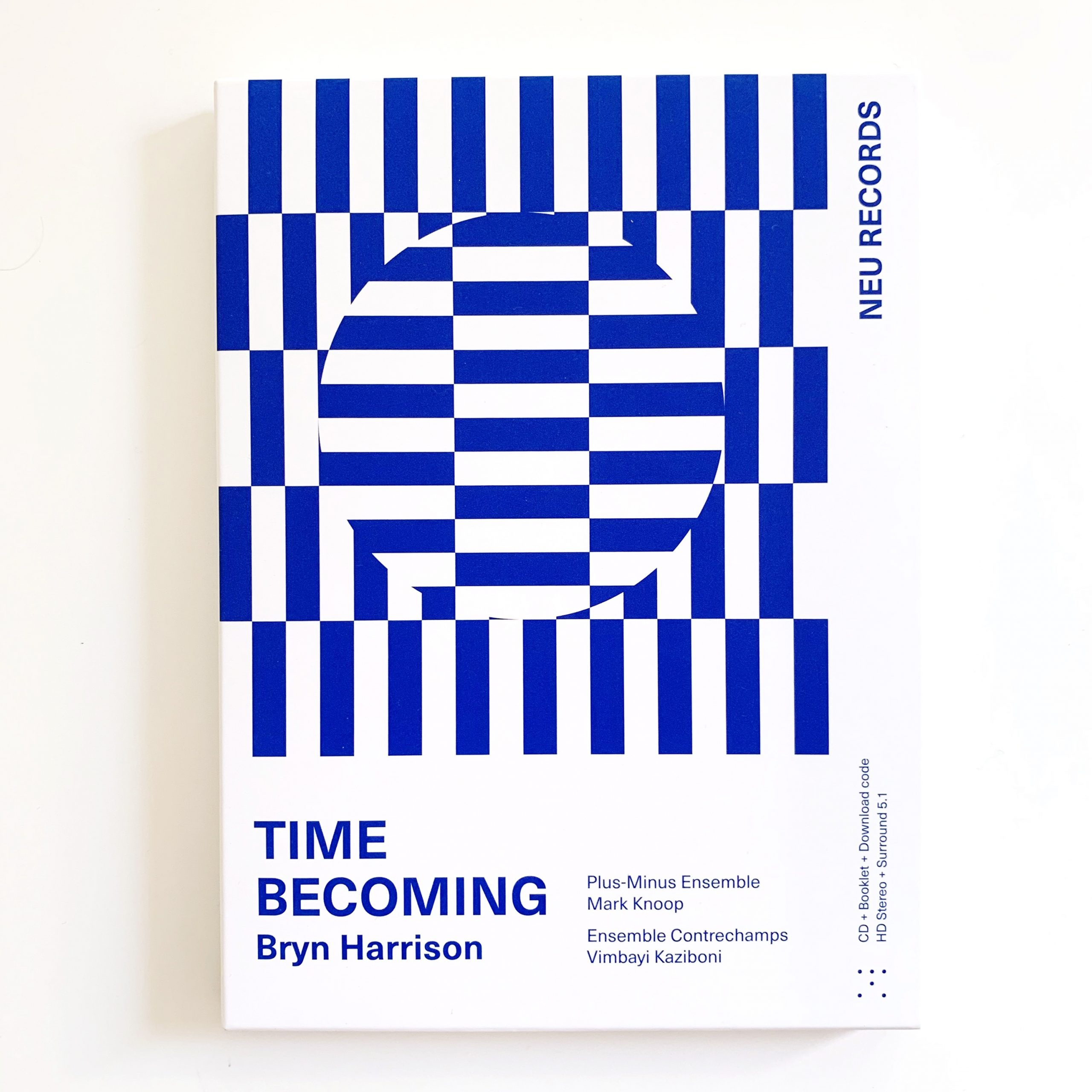 Bryn Harrison - Time Becoming - CD box