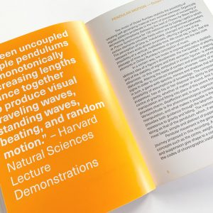 Octavi Rumbau - Pendular Motion - Booklet